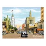 Vintage Hollywood Tarjeta Postal