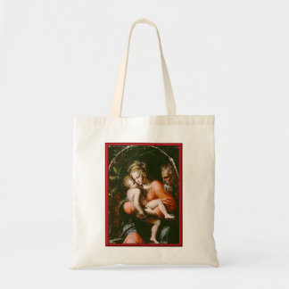 VINTAGE HOLY FAMILY TOTE BAG