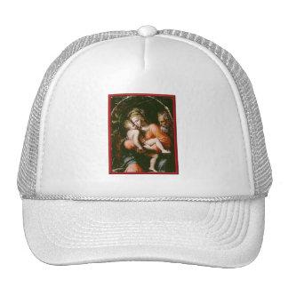 VINTAGE HOLY FAMILY TRUCKER HAT