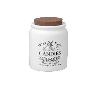 Vintage Home Candy Jar
