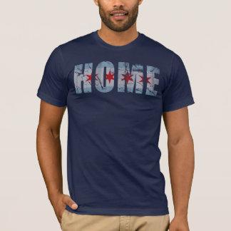 Vintage Home Chicago Flag T-Shirt