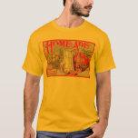 Vintage Home Made Lemonade Fruit Crate Label T-Shirt