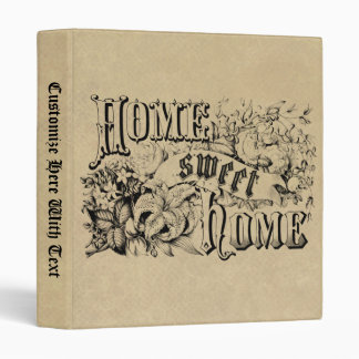 Vintage Home Sweet Home Home Decor and Gifts Binder
