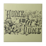 Vintage Home Sweet Home Home Decor and Gifts Ceramic Tiles