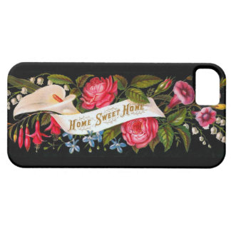 Vintage Home Sweet Home Victorian Floral- iPhone 5 iPhone SE/5/5s Case