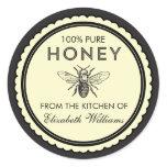 Vintage Homemade Honey Stickers