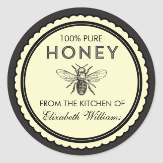 Vintage Homemade Honey Stickers
