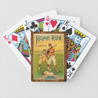 Vintage Homerun Cigarettes Baseball Poker Deck