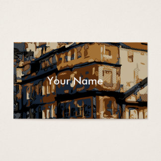 Vintage Homes in Venice Italy Business Card