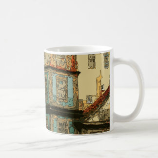 Vintage Homes in Venice Italy Coffee Mug