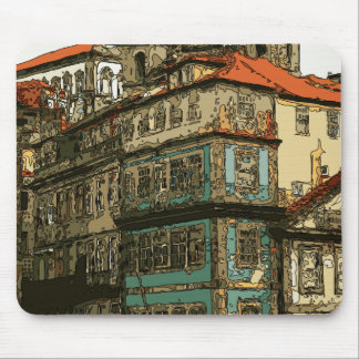 Vintage Homes in Venice Italy Mouse Pad