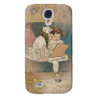 Vintage Homeschooling Children Galaxy S4 Cases