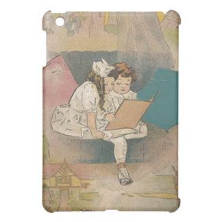 Vintage Homeschooling Children iPad Mini Covers