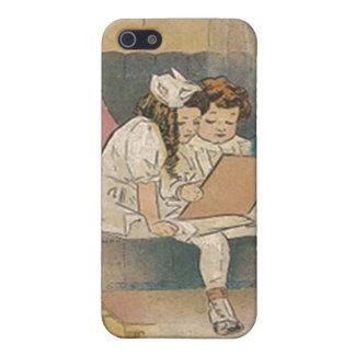 Vintage Homeschooling Children Cases For iPhone 5