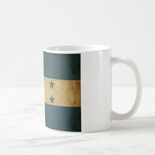Vintage Honduras Flag Coffee Mug