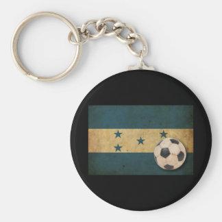 Vintage Honduras Flag Keychain
