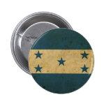 Vintage Honduras Flag Pinback Button