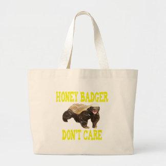 VINTAGE Honey Badger Don't Care Canvas Bags