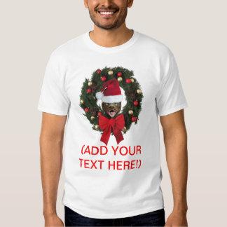 Vintage Honey Badger Merry Christmas Shirt