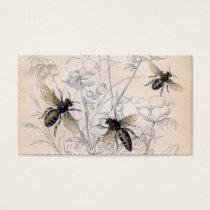 Vintage Honey Bee Art Print