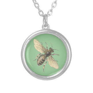 Vintage Honeybee Necklace
