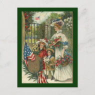 Vintage Honoring Memorial Day Postcards