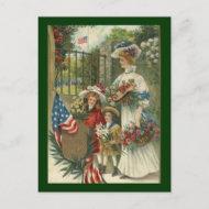 Vintage Honoring Memorial Day Postcards