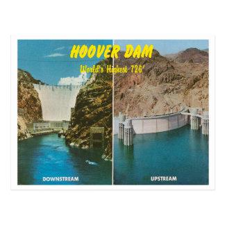 Vintage Hoover Dam Postcard