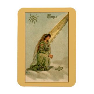 Vintage Hope devotional religious Magnet