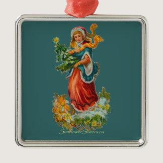 Vintage Hope Ornament