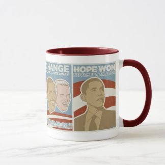 """Vintage """"Hope Won"""" Obama Mug"""