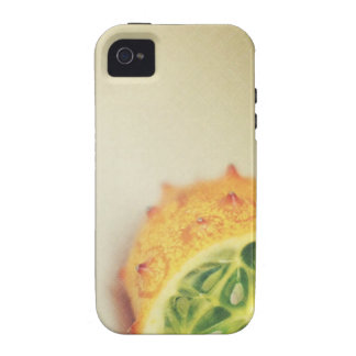 Vintage Horned Melon iPhone 4 Cases
