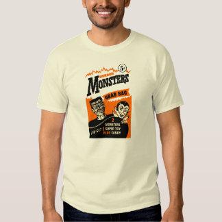 Vintage Horror Monster Grab Bag Ad T-Shirt