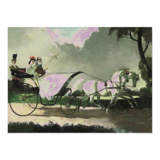 Vintage Horse and Carriage Invitation