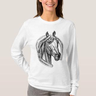 Vintage Horse and Horseshoe Tee Shirt