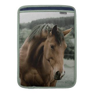 vintage horse animal painting art sleeve for MacBook air