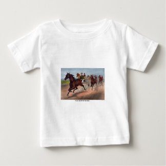 Vintage horse carriage racing print baby T-Shirt