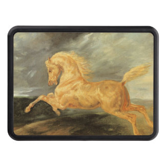 Vintage Horse Frightened by Lightining Trailer Hitch Cover