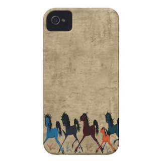 Vintage Horse iPhone 4 Case-Mate Cases
