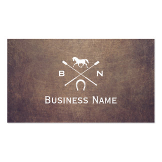 Horse business cards templates zazzle for Horse business cards