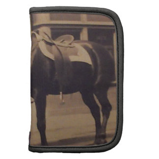 Vintage Horse Picture Folio Planners