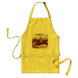 Vintage Horse Racing Thrill of the Race Adult Apron