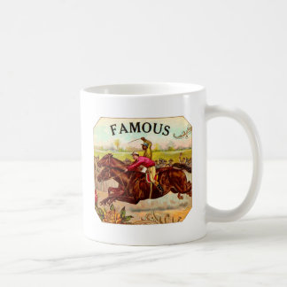 Vintage Horse Racing Thrill of the Race Coffee Mug