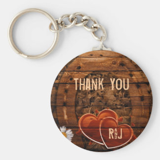 vintage horse shoe hearts western wedding thankyou basic round button keychain