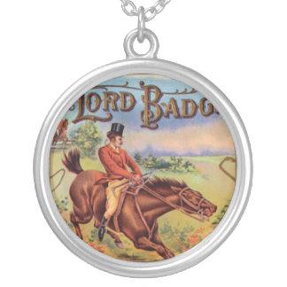 Vintage Horse Sign Necklace