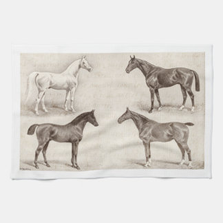 Vintage Horses - Horse and Pony Templates  horse Towel