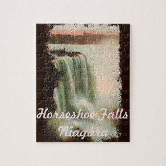 Vintage Horseshoe Falls Niagara Puzzle