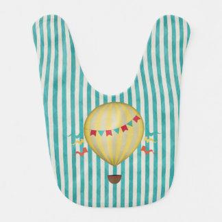 Vintage Hot Air Balloon Bib