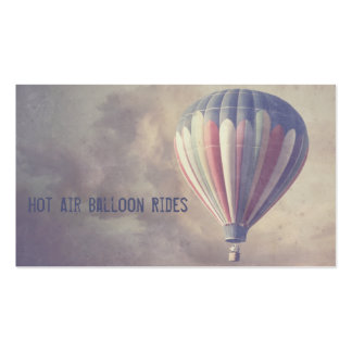 Vintage Hot Air Balloon Business Cards