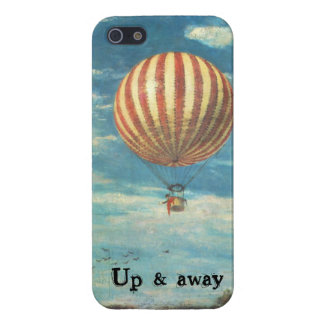 Vintage Hot Air Balloon Case For iPhone SE/5/5s
